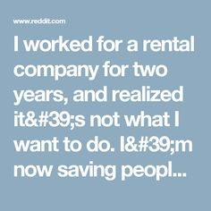 I worked for a rental company for two years, and realized it's not what I want to do. I'm now saving people money on rental cars. Here are some tips to save money on rental cars. - Frugal