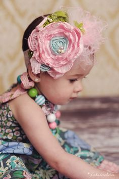 Matilda Jane House of Clouds Obsession Headband by CozetteCouture, $28.95