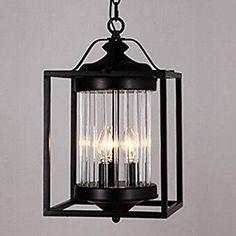 Pendant Light,3 Light,Northern Europe Style Villa Aisle Lamp Metal