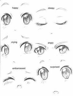 apprendre a dessiner des yeux ^^ Plus