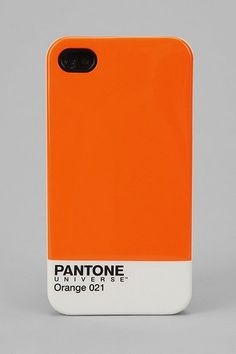 Pantone iPhone 4/4s Case in Orange - love this! Though would pick another color.