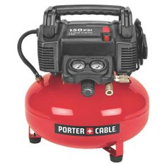 Porter-Cable 6-Gal. 150 psi Oil-Free Pancake Compressor-C2002 at The Home Depot