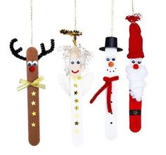 Christmas will get extra particular with nothing however cute Christmas crafts. Wondering what are some straightforward Christmas crafts? Well there's entire record of straightforward Christmas crafts you could select from. Now Christmas crafts could be Popsicle Stick Christmas Crafts, Christmas Ornament Crafts, Christmas Crafts For Kids, Craft Stick Crafts, Christmas Projects, Fall Crafts, Kids Christmas, Holiday Crafts, Christmas Gifts