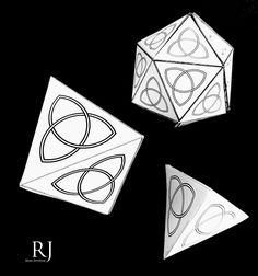 Sólidos platónicos triangulares