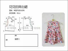 Dress for baby (pola baju anak)