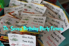 Dr. Seuss Birthday Party! Dr. Seuss Party Food Ideas, Games, Decor