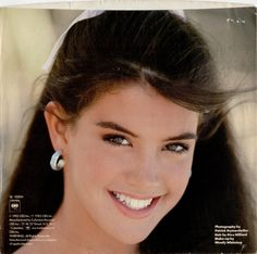 """Single on Phoebe Cates - Theme From """"Paradise"""" / Theme From """"Paradise"""" (Instrumental) - Columbia - USA - 80s Icons, Kevin Kline, Romanov Sisters, Phoebe Cates, Fast Times, First Crush, Brooke Shields, Blonde Beauty, Celebrity Crush"""