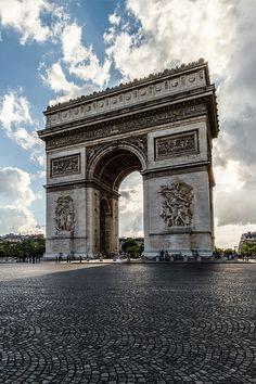 Arc de Triomphe [Photographer: Chris Chabot]