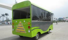 Electric Food Bus, Mini Food Cart, Offers the Taste You Love