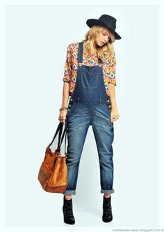 Enteritos invierno 2015 moda jeans invierno 2015 Zhoue.