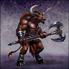 Znalezione obrazy dla zapytania minotaur heroes of might & magic 6