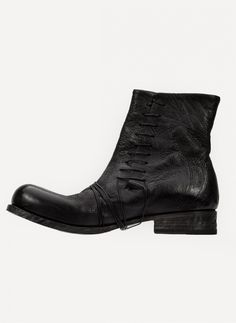 Obscur - HV13-43 Side Lace Boot