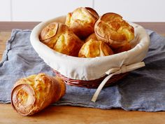 Popovers recipe from Ina Garten via Food Network