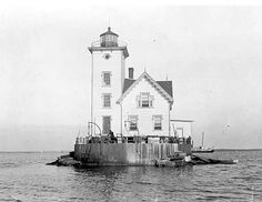 Wickford Harbor Lighthouse in RI