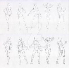 Anatomy Drawing Female Sketches 48 - Woman standing practice 2 by AzizlaSwiftwind - Anatomy Drawing, Anatomy Art, Anatomy Sketches, Drawing Sketches, Body Anatomy, Body Sketches, Drawing Art, Drawing Ideas, Sketching