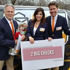 Exciting Prize Patrol ready to deliver two Big checks Instant Win Sweepstakes, Online Sweepstakes, Bingo Blitz, Win For Life, Hurtado, Winner Announcement, Birthday Wishes For Myself, Lottery Winner, Publisher Clearing House