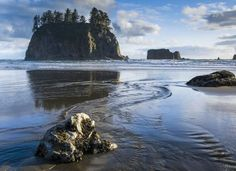 Skip the major beaches this summer and take a trip to lesser-known vacation spots like Second Beach in Washington