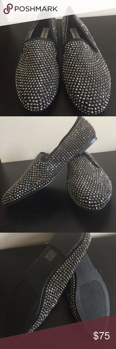 Steve Madden Caviarr Slip-On Never worn only tried on inside but no box. Steve Madden Shoes Flats & Loafers