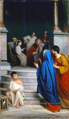 8 Christ Teaching at the Temple religion Carl Heinrich Bloch
