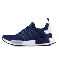 7b9e23e40 Adidas originals NMD R1 Men - running trainers sneakers Blue Navy Adidas  Sneaker Nmd