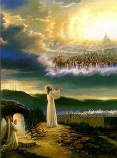 Shop Jesus at Heaven's Gate Wrapped Canvas created by BibleGateway. Jesus And Mary Pictures, Pictures Of Jesus Christ, God Pictures, Jesus Pics, Heaven Pictures, Braut Christi, Jesus Artwork, Heaven Art, My Father's House