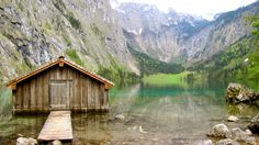 Obersee lake at Berchtesgaden National Park
