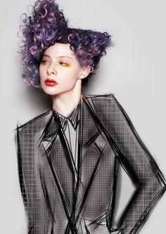 Tracey Hughes коллекция 2014 Croquis — HairTrend.ru