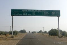 The road to Bikaner, India