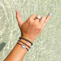 Perfect stack for a sunny beach day x @haleyjuneau