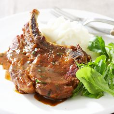 Cider-Braised Pork Chops Recipe - Cook's Country