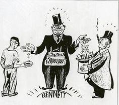 Rich vs. Poor! 1920's PLEASE HELP!!!?