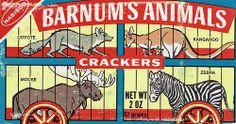 vintage animal crackers - Google Search