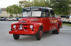 1951 Ford Fire Patrol truck. Chicago FD. An unusual vehicle.