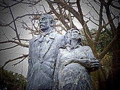 Monumento a los inmigrantes piamonteses (Italianos) que poblaron por primera vez Irigoyen.
