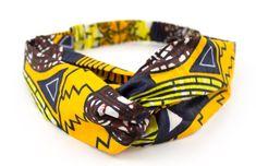 DIY Wax Turban Headband with Elastic Turban Headbands, Diy Headband, Turbans, Quilts Vintage, Moda Afro, Sewing Online, Diy Wax, Needle Felted, Fabric Necklace
