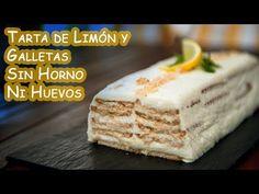 Tarta de Limon y Galletas Facil Sin Horno Ni Huevos -