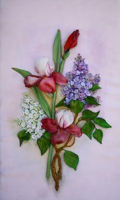 .Silk Ribbon Embroidery
