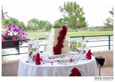 Reception at the Inverness Hotel | Denver, Colorado | Wedding Cake | Roses | Jessi Dalton Photography | Colorado Wedding Photographer | www.jessidalton.com