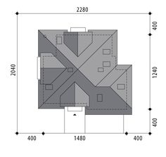 Hermiona Nowa II Timber Roof, House Construction Plan, Houses, How To Plan, Modern, Projects, Homes, House, Computer Case