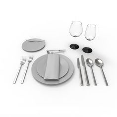 3D Model Tableware - 3D Model