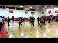 Yale Ballroom Dance Competition 2012 Gold Cha-Cha Rumba Final