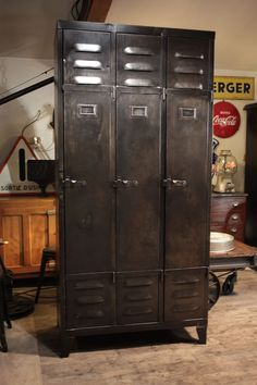 meuble industriel ancien deco loft