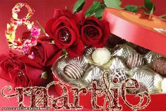 8 Mars, 8th Of March, Happy Halloween, Christmas Wreaths, Happy Birthday, Animation, Holiday Decor, Spring, Holidays