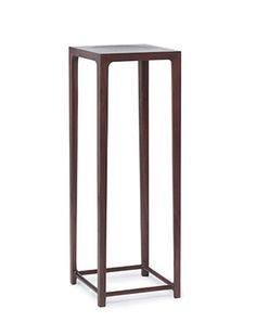 Vase Stand in Walnut - Chinese Contemporary Design