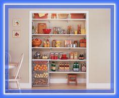 Diseños de muebles despensa pantry madera y melamina | Web del Bricolaje Diy diseño y muebles