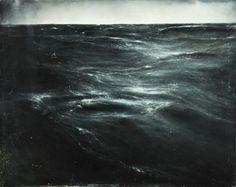 """psychogeographicalmap: """" Thierry De Cordier, Mer du Nord, Étude n°1, 2011 """""""
