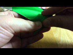 Origami Crane Pop-up Card (Jeremy Shafer) Tutorial Crane, Pop Up, Origami, Youtube, Popup, Youtubers, Chinese Paper Folding