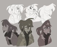 Twitter doodle dump go! As usual some OCs including FMA's Alphonse.