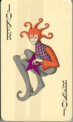 Joker Unique Playing Cards, Playing Cards Art, Vintage Playing Cards, Joker Playing Card, Joker Card, Jokers Wild, Court Jester, Punch And Judy, Pokerface