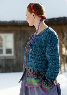 """Muhu"" cardigan in cotton & wool – Inspired by Muhu – GUDRUN SJÖDÉN – Webshop, mail order and boutiques 